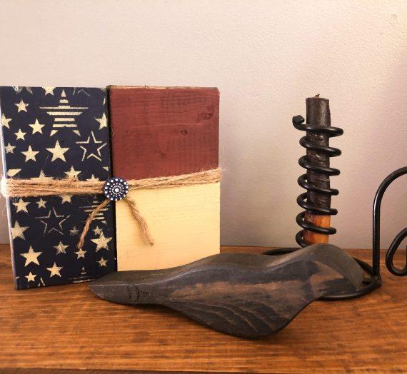 2×4 DIY Flag Shelf Sitter