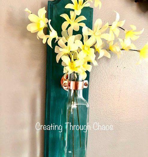 Bottle Wall Vase