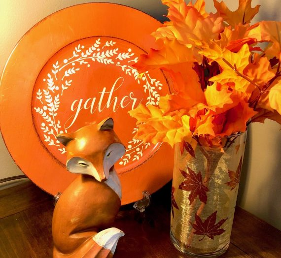 My Fall Decorating