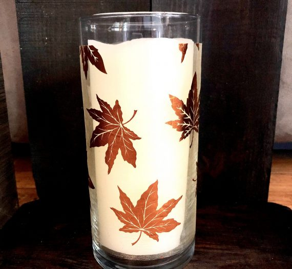 A Dollar Tree Cylinder Vase 21 Fall Ways!