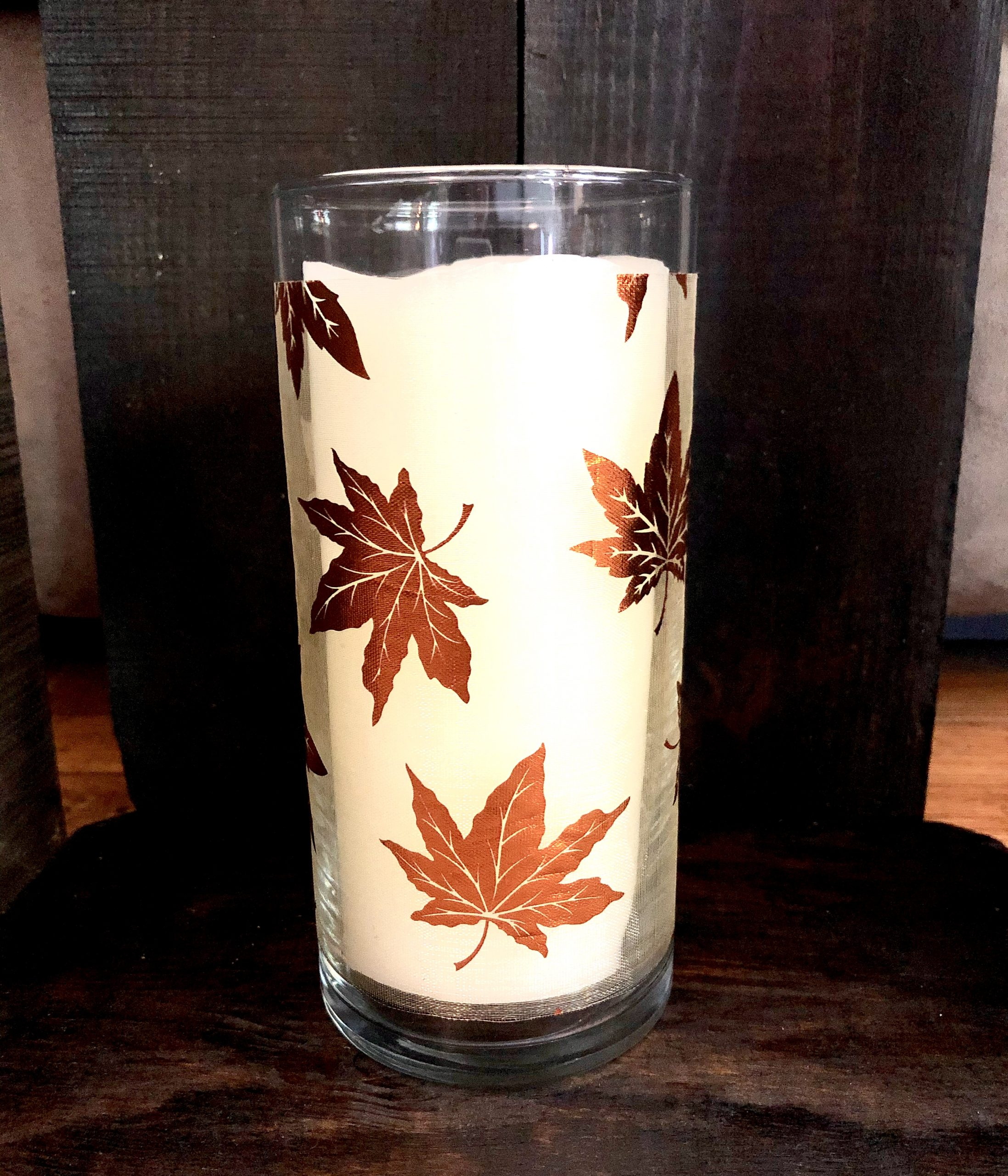 Dollar-Tree-Cylinder-Vase-Fall
