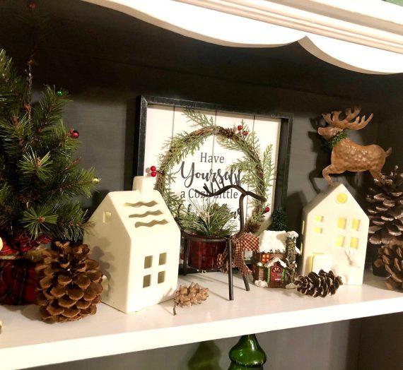 Kitchen Christmas Corner